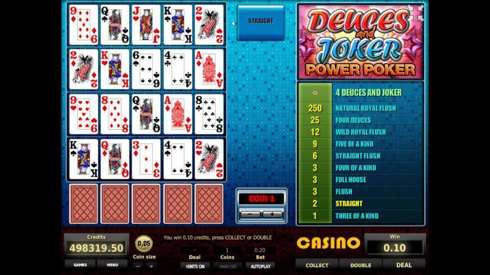 Изображение игрового автомата Deuces and Joker 4-Hand Poker 2