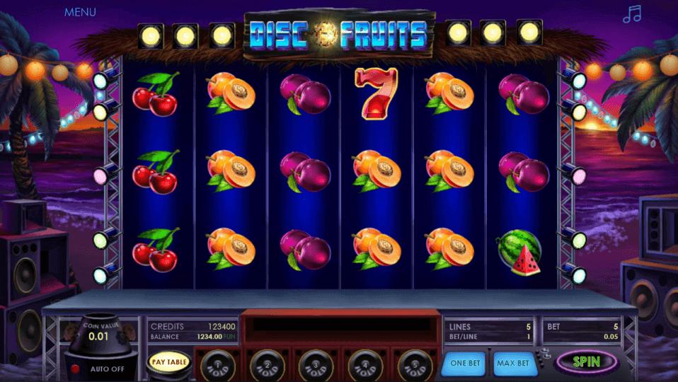 Изображение игрового автомата Disco Fruits 1