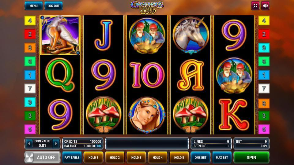Изображение игрового автомата Gryphon's Gold 2