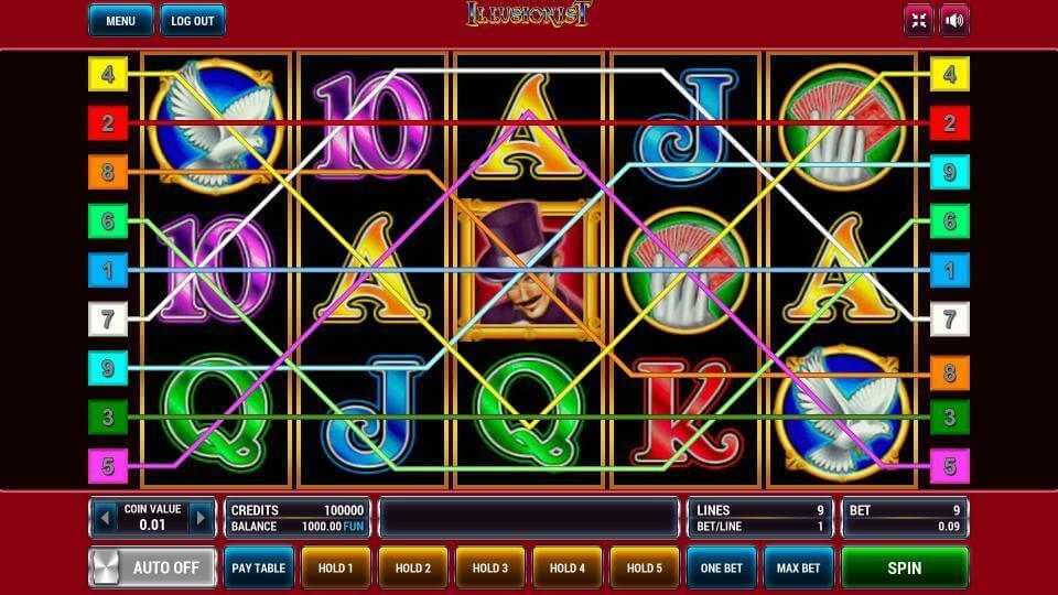 Изображение игрового автомата Illusionist 1