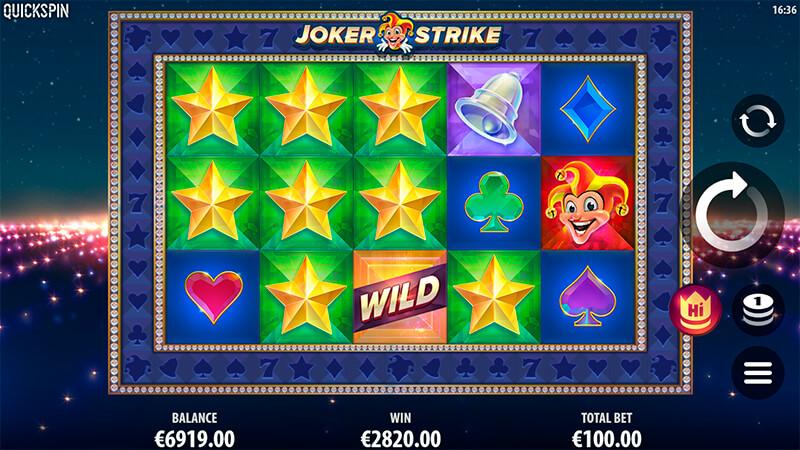 Изображение игрового автомата Joker Strike 1